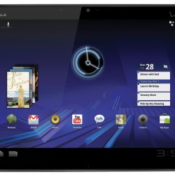 Motorola Xoom Tablet With Honeycomb
