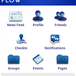 Flow for Android brings all of Facebook's missing features