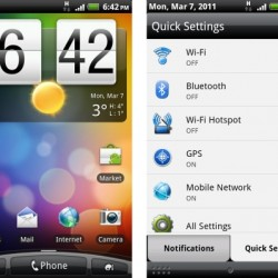 Gingerbread and Sense UI 2.1 comes to Desire Z and T-Mobile G2 courtesy of a custom ROM