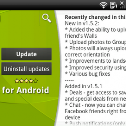 Facebook for Android updated with a bunch of new features