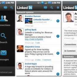 Official LinkedIn App Available in the Android Market