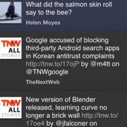 TweetDeck for iPhone Updated to Version 2.0