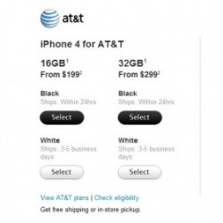 White iPhone 4 Available in Apple Stores From Today