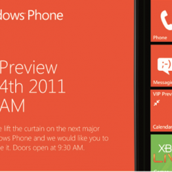 Rumor: 9 New WP7 Phones Will Be Shown Off Tomorrow