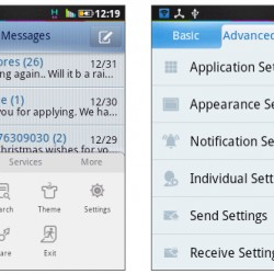 How To Change Fonts In Your Messaging App Using GoSMS Pro