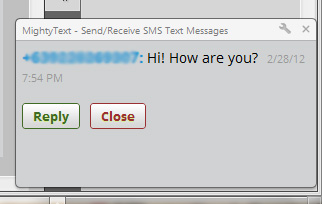 How To Send and Receive SMS From Your Phone To Your Desktop Browser