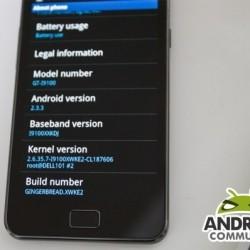 Galaxy S II update